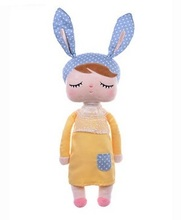 Unique Gifts high quality Sweet Cute Angela rabbit doll Metoo baby plush doll for kids panda butterfly bee poupee dolls