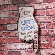 Laundry Room Here LED Neon Signs Vintage Home Decor Illuminated Iron Light Restaurant Bedroom Wall Decorative Signage A939