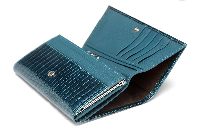 VICKAWEB Genuine Leather Small Wallet Women Wallets Alligator Short Purse Coins Hasp Girls Wallet Fashion Female Ladies Wallets-014
