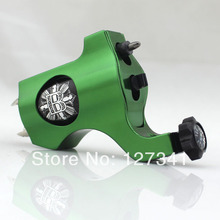 Premium Green PVD Aluminum Bishop Rotary Tattoo Machine Wholesale Tattoo Supply  Liner Shader Combined