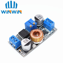 5pcs 5A DC to DC CC CV Lithium Battery Step down Charging Board Led Power Converter Lithium Charger Step Down Module hei(China)