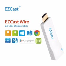 TV Stick EZCast Wire HDMI USB Display Support iOS iPhone AirPlay Android Mac Windows Charging Dual Monitor HDMI Cable
