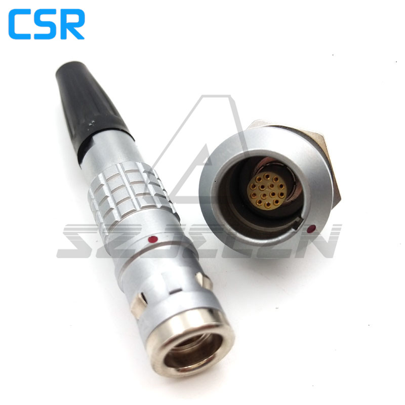 LEMO connectors 14pins FGG.1K.314.CLAD/EGG.1K.314.CLL,14 pin connector plugs and sockets , Waterproof 14-pin connector<br>