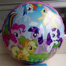 1pcs 18inch Rainbow Pony Unicorn print foil helium balloon baby shower birthday christmas party decoration balloon kids toy