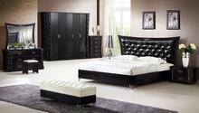 The Cheapest Modern complete 5 pcs Bedroom Furniture Set From Foshan China(China)