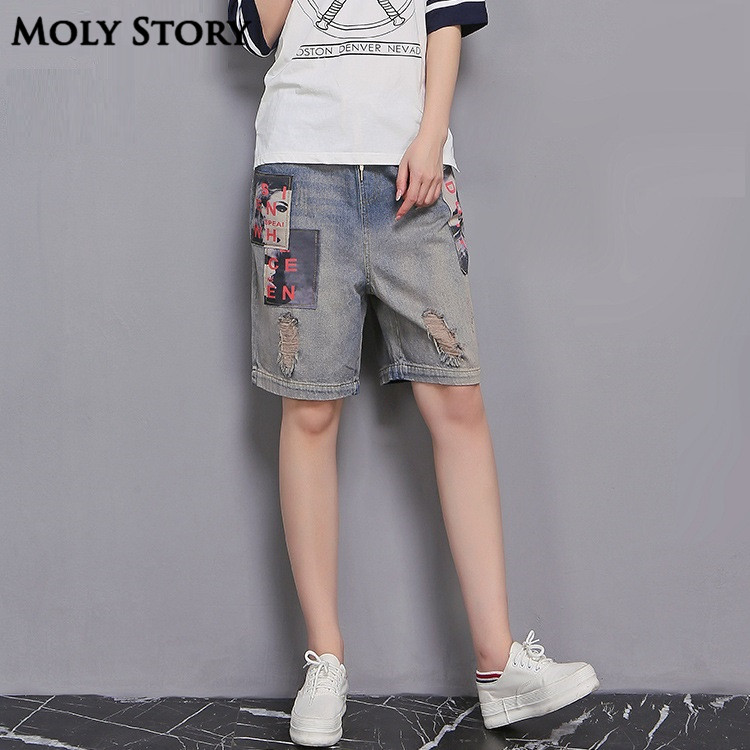 Online Buy Wholesale woman wide leg knee length shorts from China ...