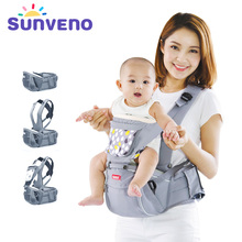 SUNVENO Designer Baby Carrier Infant Toddler Front Facing Carrier Sling Kids Kangaroo Hipseat Baby Care 0-36Months(China)
