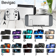 Stickers Set PVC Decal Skin Cover Stickers Accessory Kit for Nintendo Nintend Switch NS NX Console Joy-con Controller Dock