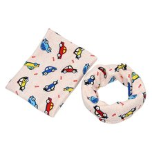 Cute Lovely Baby Soft Scarf Animal Print Scarf Kids Cotton Scarf Winter Children Collar Cartoon Scarf