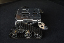 Smart car tank chassis crawler chassis caterpillar vehicles wall-e robot chassis
