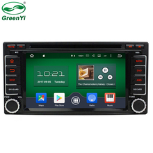"GreenYi Octa Core 32GB ROM 2 Din 6.2"" Android 6.0 PC Car DVD GPS For Subaru Forester Impreza 2008-2011 4G TV Bluetooth RDS Radio(China)"