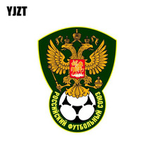 Buy YJZT 9.2CM*12.3CM Creative Car Russia National Team Soccer Football Stickers PVC Decal 6-0160 for $1.01 in AliExpress store