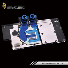 Bykski A-SP48PALT-X Full Cover Graphics Card Water Cooling Block  for Sapphire RX480 8G OC