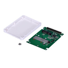 mSATA To 2.5Inch PATA/IDE SSD Enclosure Adapter Case