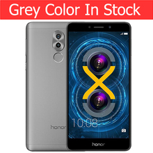 Huawei Honor 6X 3GB 32GB ROM Original Mobile Phone 4G FDD 5.5'' 1920x1080P Octa Core Dual Rear Camera Fingerprint ID