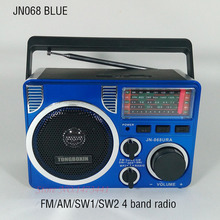 With Two SD TF Card Slot And Flashlight High Power Full Band Radio FM/AM/SW Stereo Radio Speaker USB MP3 Player