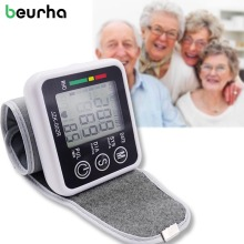 HOT!Arm Blood Pressure Pulse Monitor Health care Monitors Digital Upper Portable Blood Pressure Monitor meters sphygmomanometer(China)