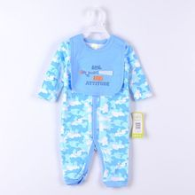 Baby Gear 2-pieces Suits Baby Bodysuits Bibs Socks PP Pants Clothing Sets Retail Top Quality