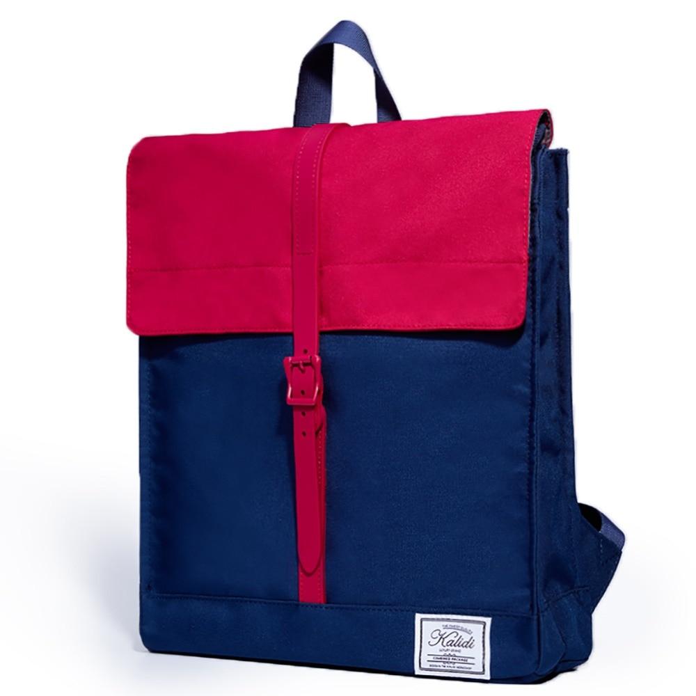 KALIDI 2017 New Arrival 15 inch Laptop Backpack Patchwork Mens Multi-purpose Travel Rucksack Waterproof Causal Girls School Bag<br><br>Aliexpress