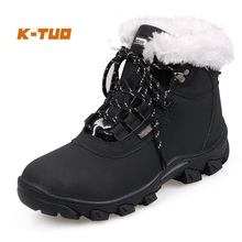 K-TUO Winter Waterproof Hiking Shoes Women Climbing Mountain Outdoor Sport Boots Non-Slip Breathable Hiking Sneakers KT-11768