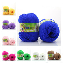 1 ball 2016 Soft Warm Smooth Silk ThickCotton for Baby  Kids Sweater Eco-friendly diy  Scarf cap