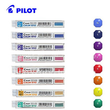 Pilot Color Eno Mechanical Pencil Lead - 0.7 mm 8 tubes/lot Red/Violet/Blue/Light Blue/Green School & Office Supplies(China)
