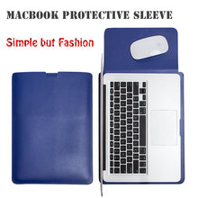 WALNEW Leather Case for Apple Macbook Air 13 Macbook Pro 15 Retina 11.6 12 inch Cover Laptop Sleeve Computer Notebook Laptop Bag