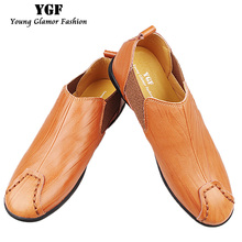 Buy YGF Breathable Mens Loafers Genuine Leather Shoes Casual Male Footwear Men Leather Loafers Slip Moccasins Mens Driving Shoes for $26.30 in AliExpress store