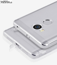 For Xiaomi Redmi 4 4 Pro 4 Prime Case Soft TPU Transparent Clear Cover For Xiaomi Redmi 4 Pro Silicone Case & Dust Plug Monila