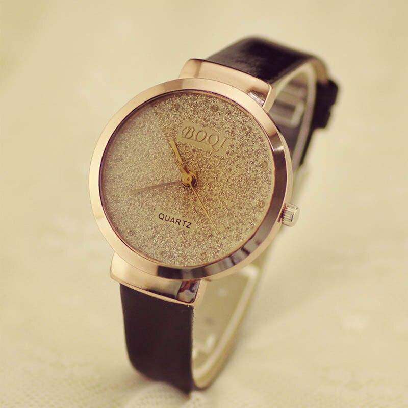 Mance Fashion Brand Sands Starry Business Simple Temperament Belt Table Diamond Quartz Watch relogio feminino montre femme Gift<br><br>Aliexpress