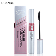 1x Black ink Alobon Cosmetic 3d Fiber Lashes Mascara Individual False Eyelashes Extension Colossal Mascara Volume Express Makeup(China)