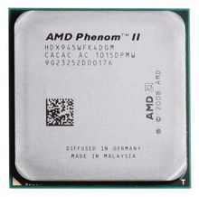 AMD Phenom II X4 945 3.0Ghz L3=6MB Quad-Core Processor Socket AM3 938-pin cpu