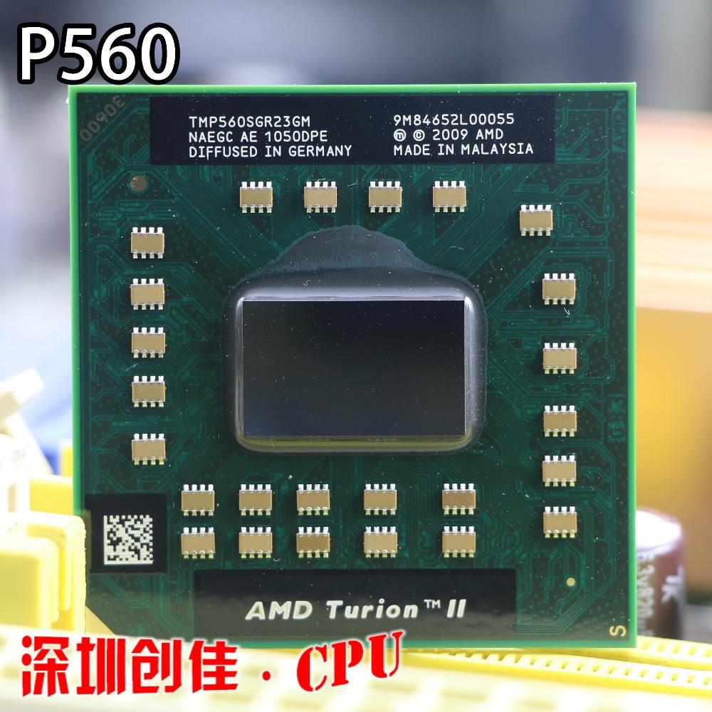 Интернет магазин товары для всей семьи HTB1y682QXXXXXb2XVXXq6xXFXXXs Оригинальный AMD Turion II Dual-Core мобильный P560-TMP560SGR23GM 2,5 г 2 м 25 Вт P560 ноутбука Процессор процессор P