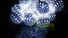 Funlife 4cm x 20pcs LED ,Christmas tree Decoration,Indoor Fairy Lights  Metal Ball String Lights for Party  Wedding Decoration