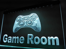 LK984- Game Room Console   LED Neon Light Sign    home decor  crafts