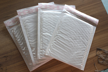 50pcs/lot 14*16cm Shock shrink packaging bubble film film bubble envelopes bag white international express small bags 14x16cm