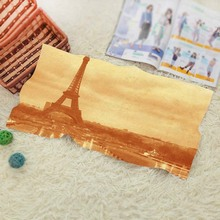 Old Photo Of The Eiffel Tower  Vintage Baby Batoom Textil Washcloth Swimwear Shower Best ift 1 Face Towel