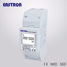 SDM230 Modbus 220/230V Single Phase Energy Meter, double DIN module, Bi-directional, Multi Function, RS485, Pulse/Modbus output
