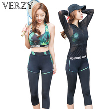 Women Yoga Set Leaf Letter Sport Bra&Shorts&Tight Pants 4pcs Running Fitness Breathable Mesh Long Sleeve Gym Outdoor Comfortable