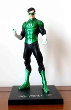 Anime Green Lantern PVC Action Figure Collectible Model doll toy 18cm