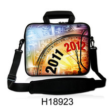 "Neoprene  Handle Laptop Messenger Sling Bag10""13""14""15""17"" 2012 Year Design Computer Package Shoulder Cover Pouch For Sony"