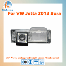 1/4 Color CCD HD Rear View Camera / Reverse Parking Camera For Volkswagen New Jetta 2013 Bora Night Vision / Waterproof / LED(China)