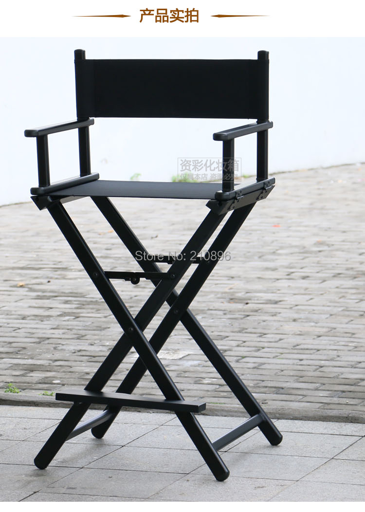 Portable Director Chairs Aluminum Makeup Chair Foldable Artist Hairdressing China Mainland
