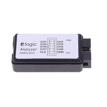 New USB Logic SCM 24MHz 8 Channel Logic Analyzer Debugger for ARM FPGA High Quality(China)