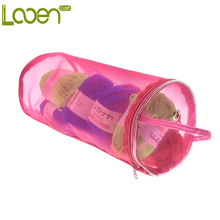 Looen Brand High Quality Large Size 33*13cm Yarn Case Yarn Storage Hollow DIY Hand Weaving Tools Yarn Bag Crochet Thread Storage