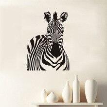 Cute Zebra Wall Stickers Removable Vinyl DIY Wall Decals Art Murals Self  Adhesive Wallpaper Creative Wild