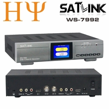 Original Satlink WS-7992 Modulator 7992 SATLINK 2 channel HD DVB-T Modulator RF / AV / HD(China)