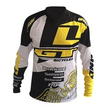 2017 New Downhill Mountain Bike Riding Gear GT Racing Under Cross-country T-shirt Quick-drying Breathable Soft Tail(China)