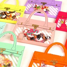 72pcs/lot  Cartoon Handbag design Gift seal flake sticker pack/bag hot selling deco packing stickers Kawaii