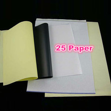25pcs Tattoo Transfer Paper A4 Size Tatoo Paper Thermal Stencil Carbon Copier Paper